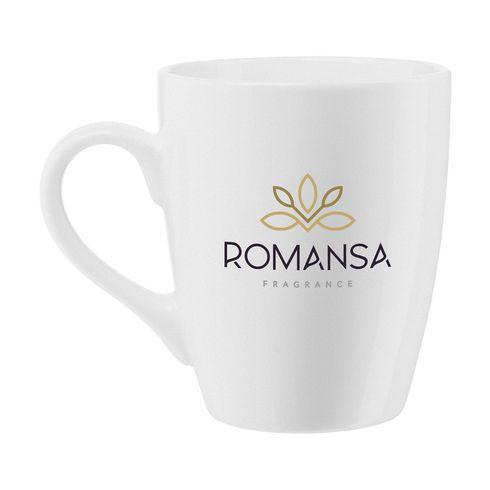 Keramikmugg Zonia med företagslogga · 350 ml