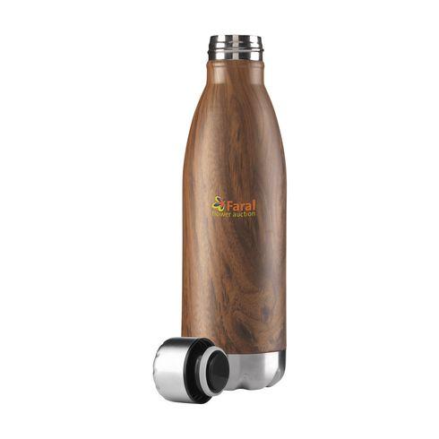 Topflask Wood 500 ml vattenflaska