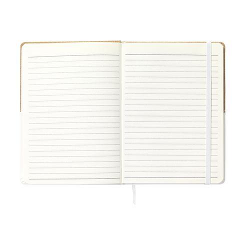 Anteckningsbok Dual-Style med företagslogga