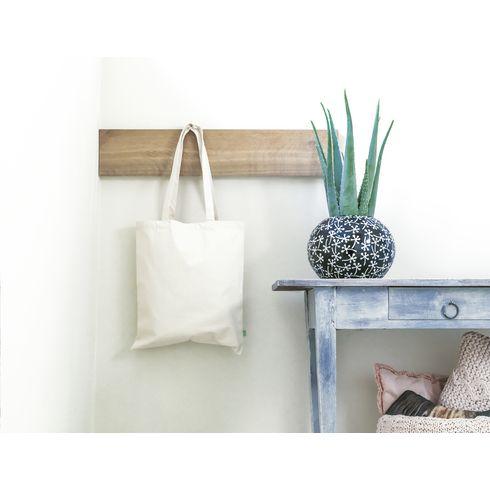 Shoppingpåse i ekologiskt bomullstyg · 140g/m²