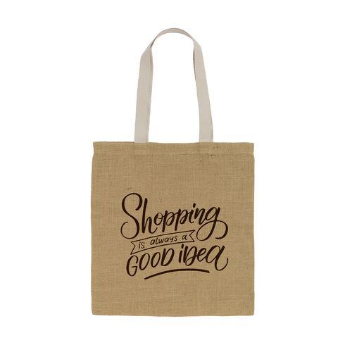 Geneva Jute Shopper shoppingväska