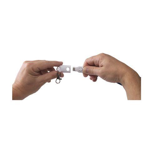 KeyCord SmartCharger 2-i-1 nyckelband