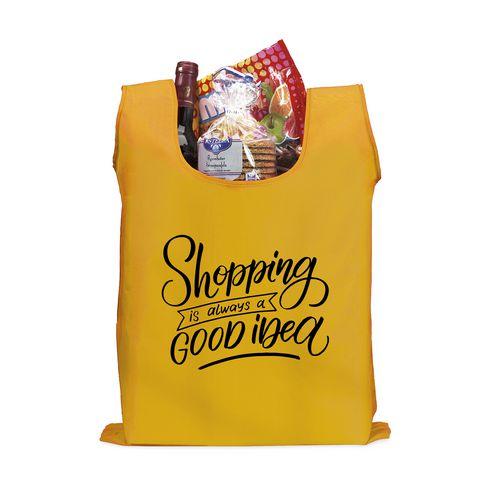 Rymlig hopfällbar shoppingpåse