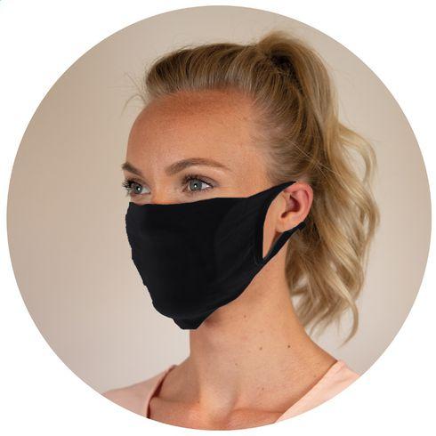 Ansiktsmask med ficka til filter