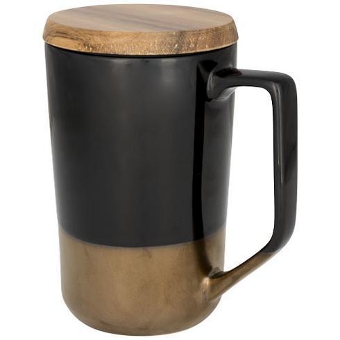Tahoe te- och kaffemugg med trälock
