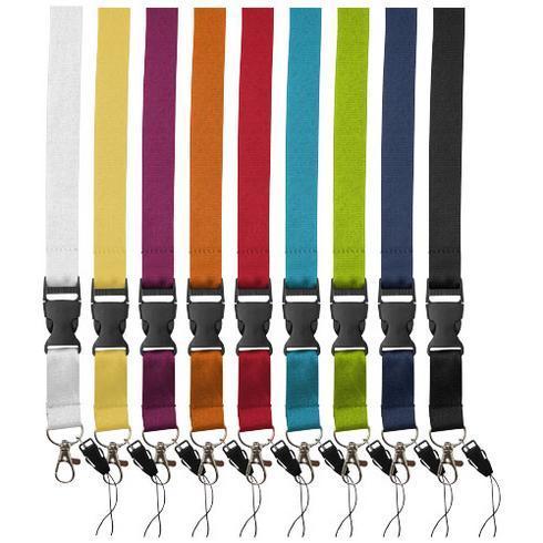 Sagan nyckelband med avtagbart spänne, telefonhållare