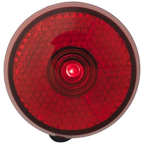 Shini reflexlampa, röd