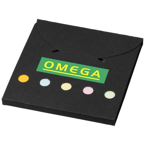 Deluxe självhäftande notislappar i färg
