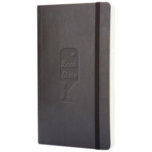 Classic L anteckningsbok med mjukt omslag – prickad