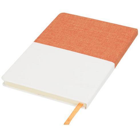 Two-tone A5 tygklädd anteckningsbok