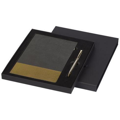 Midas presentset med anteckningsbok och penna