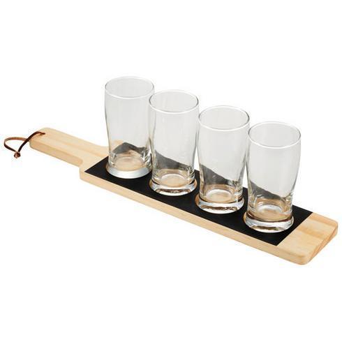 Cheers serveringsbricka med hållare