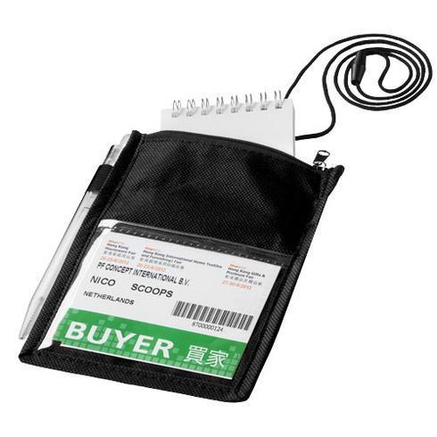 Identify passerkortshållare med plats för penna