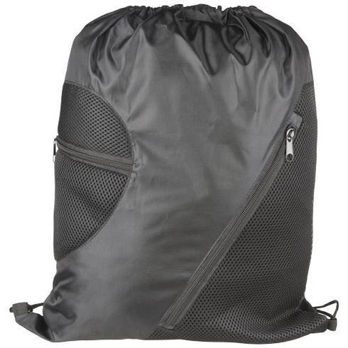 Mesh ryggsäck med blixtlås
