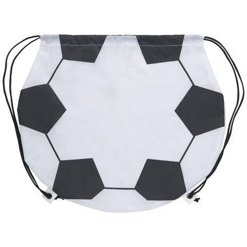 Fotbollsformad gymnastikpåse