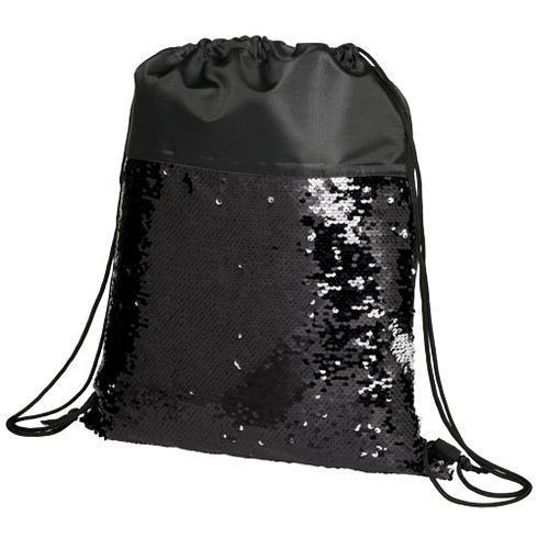 Mermaid ryggsäck med paljetter och dragsnodd