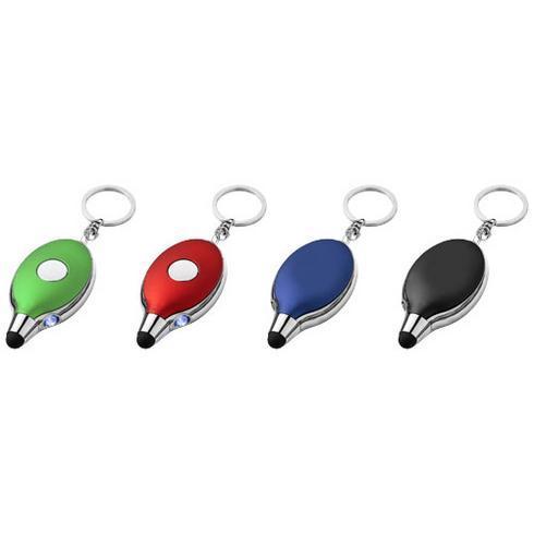 Presto nyckelring med touchpenna och LED ljus