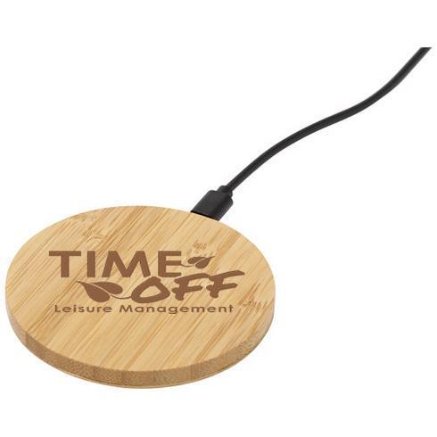 Essence trådlös laddningsplatta i bambu