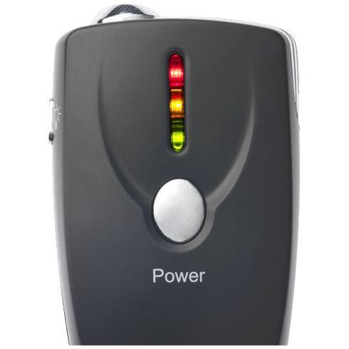Inebreeze nyckelring med elektronisk alkoholmätare