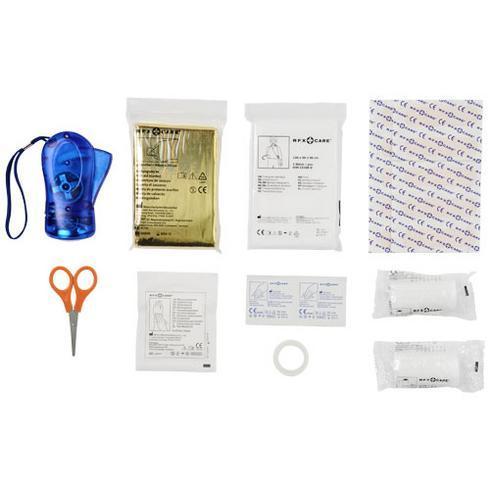 Handies 46-delars första hjälpen kit och säkerhetsväst