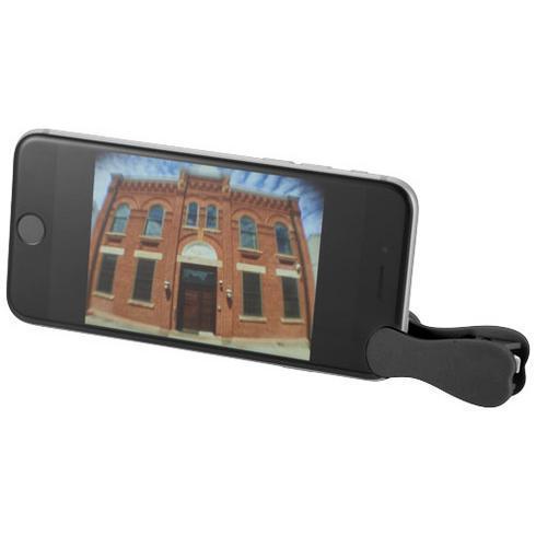 Optic vidvinkel- och makroobjektiv med klämma för smarttelefon