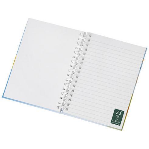 Wire-o A6 anteckningsbok med hårt omslag