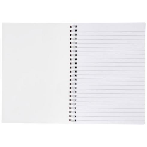 Desk-Mate® A5 anteckningsblock med syntetiskt omslag